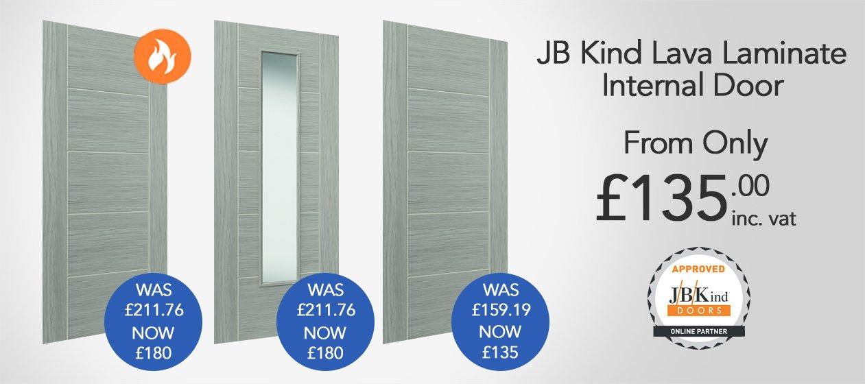 JB Kind Lava Doors