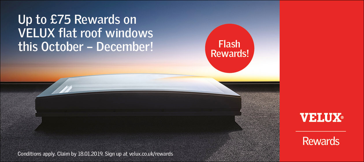 Velux Flat Roof Window Rewards