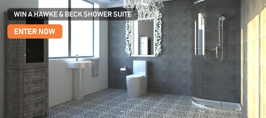 Hawke & Beck Shower Suite Giveaway