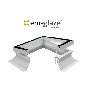 Em-Glaze Flat Modular Rooflights