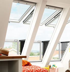 Balcony Roof Windows