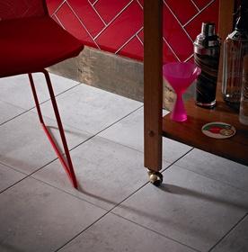 Concrete Effect Hallway & Lounge Tiles