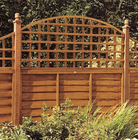 Garden Fence Panels & Gates