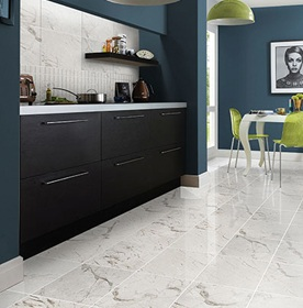 Marble Effect Hallway & Lounge Tiles