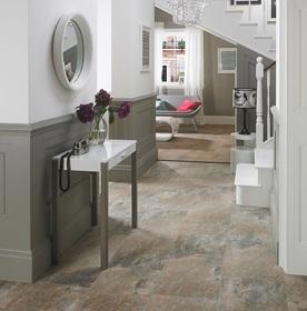 Stone Effect Hallway & Lounge Tiles