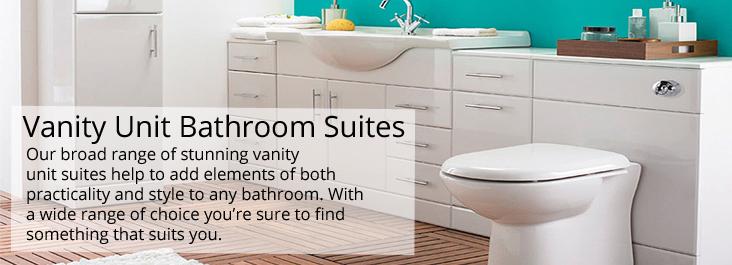 Vanity Unit Bathroom Suites