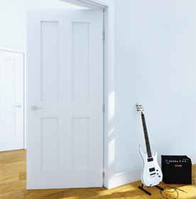 White Fire Doors