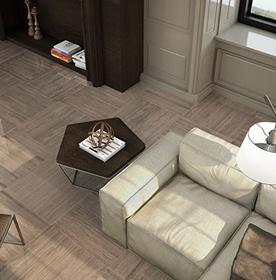 Wood Effect Hallway & Lounge Tiles