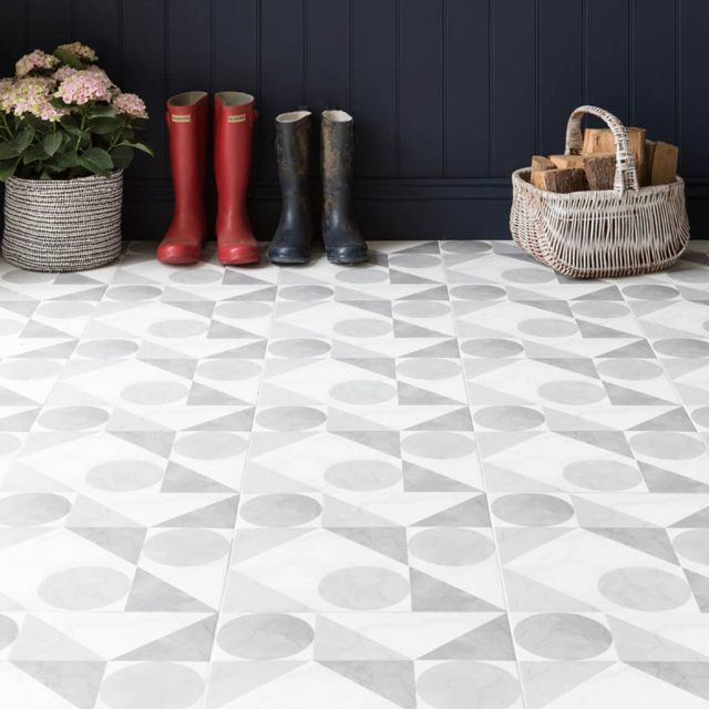 Patterned Floor Tiles