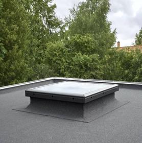 Glass Flat Roof Windows