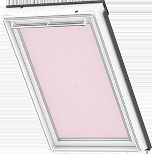 Velux Blackout Blind Pink Stars - DKL 4659