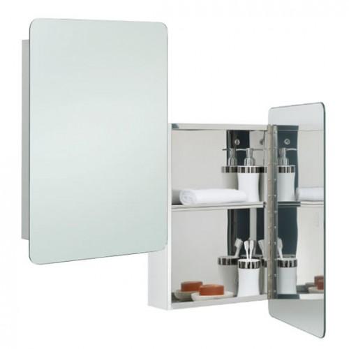 RAK Uno Stainless Steel Mirrored Bathroom Cabinet