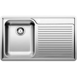 Image for BLANCO CLASSIC 45 S-IF Stainless Steel Kitchen Sink & Tap Pack Right Hand Bowl