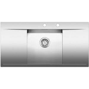 Image for BLANCO FLOW 45 S-IF Stainless Steel Kitchen Sink Bowl centred BL467663
