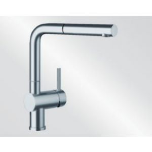 Image for Blanco Kitchen Mixer Tap Linus-S Metallic Surface High Pressure - Stainless Steel Finish