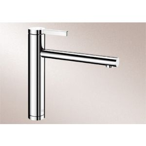 Image for Blanco Kitchen Mixer Tap Linee Metallic Surface High Pressure - Chrome