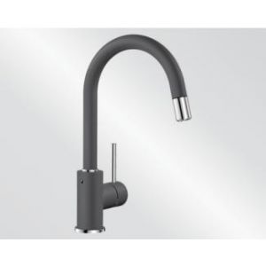 Image for Blanco Kitchen Mixer Tap Mida-S Silgranit ®-Look High Pressure - Rock Grey