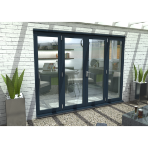 Image for Rohden Grey Fully Finished External French Vestibule Doorset