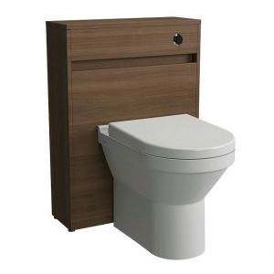 Image for Vitra S50 Back to Wall WC Unit with Concealed Cistern - Oak