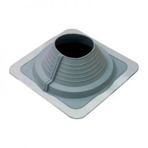 Image for AD Series Pipe Flashing For Metal Roofs 125mm to 200mm - Grey