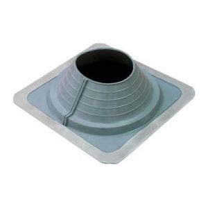 Image for AD Series Pipe Flashing For Metal Roofs 195mm to 300mm - Grey