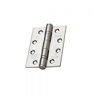 Image for Frisco Polished Stainless Steel Ball Bearing Fire Door Hinge Grade 13 (Pair) - 102mm x 76mm x 3mm