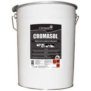 Image for Cromasol High Performance Reflective Paint Grey - 20 Litre Drum