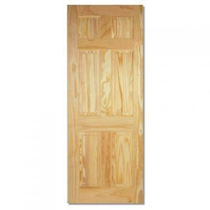 Image for LPD Clear Pine 6 Panel Internal Door