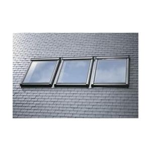 Image for VELUX EKL MK04 S0312 Triple Combination Slate Flashing 78x98cm - 100mm Gap