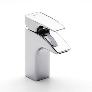 Image for Roca Thesis Chrome Basin Mixer Excluding Waste