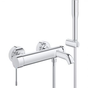 Image for GROHE Essence Single-Lever Bath & Shower Mixer with Shower Set