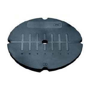 Image for Wallbarn Rubber Wedge Shaped Levelling Shim