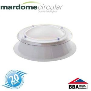 Image for Mardome Circular Double Glazed Fixed Dome & Kerb