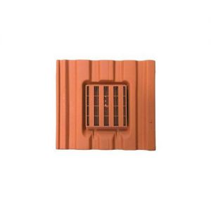 Image for Harcon In-line Mini Castellated Roof Tile Vent - Terracotta