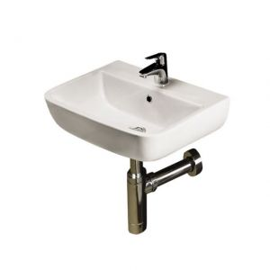 RAK Series 600 Wall Hung Cloakroom Hand Basin 400mm Wide Two Tap Hole