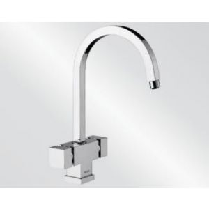 Image for Blanco Kitchen Mixer Tap Cubic Metallic Surface - Chrome