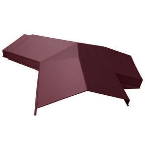 Tapco Conservatory Roof Edwardian 3 Way Ridge To Hip Connector Red Rock