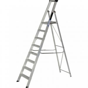 Image for Youngman 8 Tread Industrial Platform Step Ladder - BS 2037 Class 1