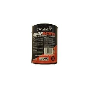 Image for Cromar Roofacryl Acrylic Roof Coating - 5kg Black