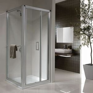 Image for Twyford Hydr8 Infold Shower Door 700mm
