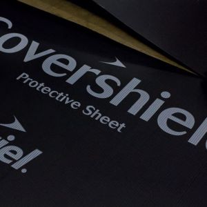 Image for Covershield Flat Standard Protective Sheets 1200x2400mm Black - Pack of 25