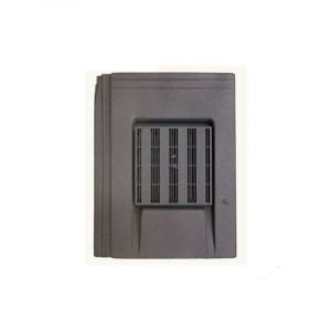 Image for Harcon In-line Thin Leading Edge Roof Tile Vent - Grey