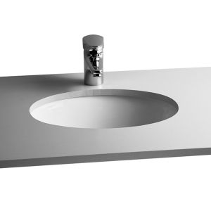 Image for Vitra S20 Compact Under-Counter Basin 52cm Oval No Taphole
