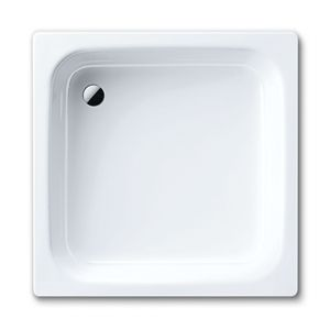 Image for Kaldewei Sanidusch 800mm x 900mm x 140mm Steel Shower Tray White - Anti Slip & Easy Clean