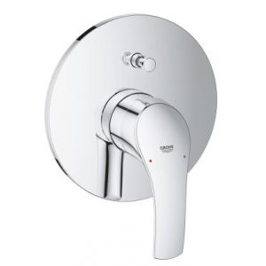 Image for GROHE Eurosmart Bath Trim Final Assembly Set , Concealed Body Not Included, Automatic Shower/Bath Diverter, GROHE Quickfix®