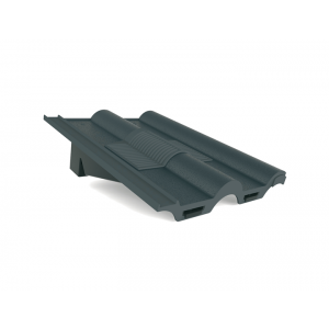 Manthorpe Double Roman In-line Roof Tile Vent - Grey