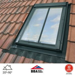 Image for VELUX White Painted GGL FK06 SD5J2  Conservation Window for 90mm Tiles - 66cm x 118cm