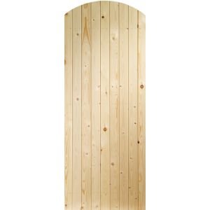 Image for XL Joinery Ledged & Braced Arched Top External Pine Gate