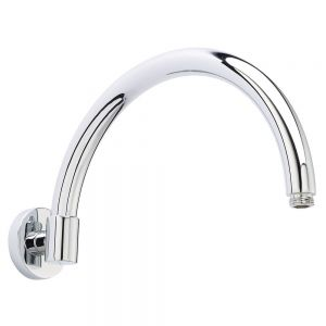 Image for Hudson Reed Curved 315mm Length Wall Mounted Shower Arm