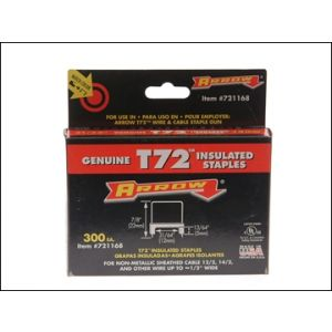 Image for T72HW Insulated Staples 5 x 12mm Box 300